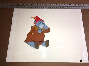 GUMMI BEARS (1985) Original Production Cel Disney Animation Art Tummi Background