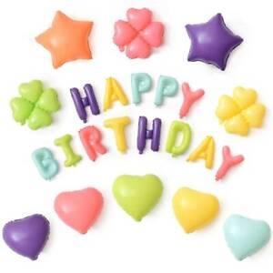 18-034-Ballons-Latex-D-039-aluminium-Baby-Shower-Anniversaire-Decoration-Fete-Mariage