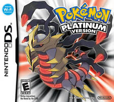 Pokemon Platinum Version - Nintendo DS Game
