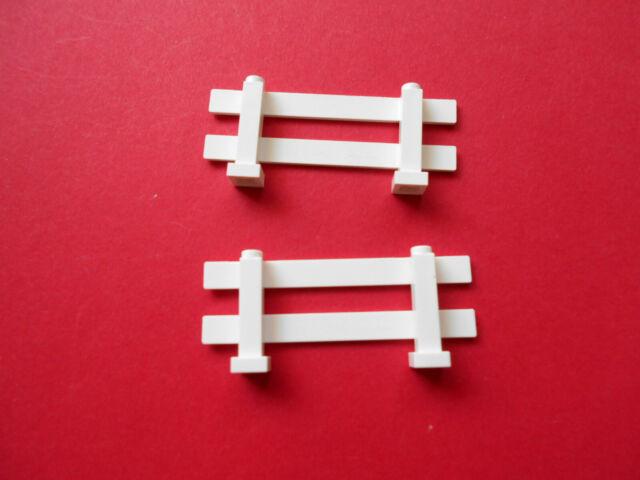 Lego 2x Zaun Geländer Spindelstein rund 4x4x2 schwarz #30056 NEUWARE