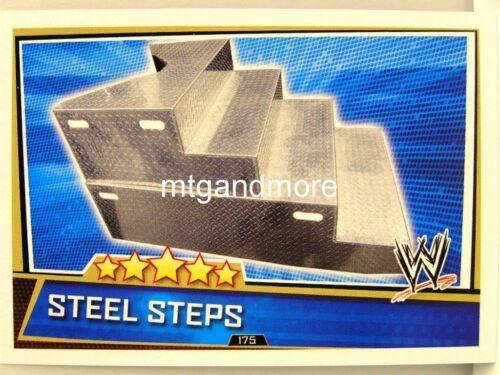 #175 steel steps Slam attax superstars