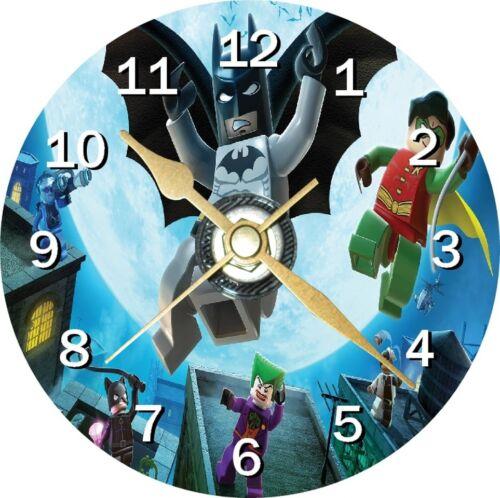 Lego Batman Nouveauté CD Horloge peut personnalisé