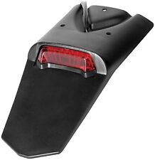 UFO Dual Sport Enduro Universal Rear Fender Extension W/Led Tail/Brake Light