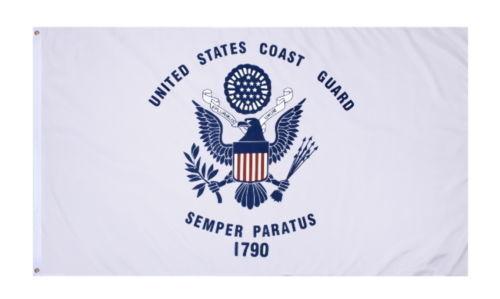 USCG US Coast Guard Semper Paratus 3/'x5/' Military Indoor Outdoor Flag Banner