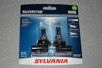 Sylvania Silverstar 9006 Pair Set High Performance Headlight Bulbs NEW