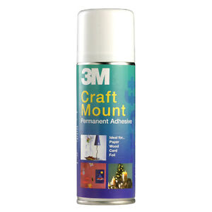 3M Craft Mount Permanent Adhesive Glue Craftmount  200ml - <span itemprop=availableAtOrFrom>Stafford, Staffordshire, United Kingdom</span> - Returns accepted Most purchases from business sellers are protected by the Consumer Contract Regulations 2013 which give you the right to cancel the purchase within 14 day - Stafford, Staffordshire, United Kingdom