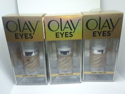 Olay Eyes Illuminating Eye Cream 3 Pack New For Dark Circles 5oz