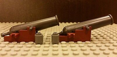 Lego NEW 1x COMPLETE Cannon For Black Pearl 4184 And Queen Anne/'s Revenge 4195