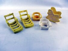 5 Lot - vintage Fisher Price Chair, Lounge Chairs, Horse Rocker