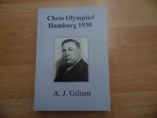 Gillam: Chess Olympiad hamburgo 1930 rare and Unpublished no 112 de 2016