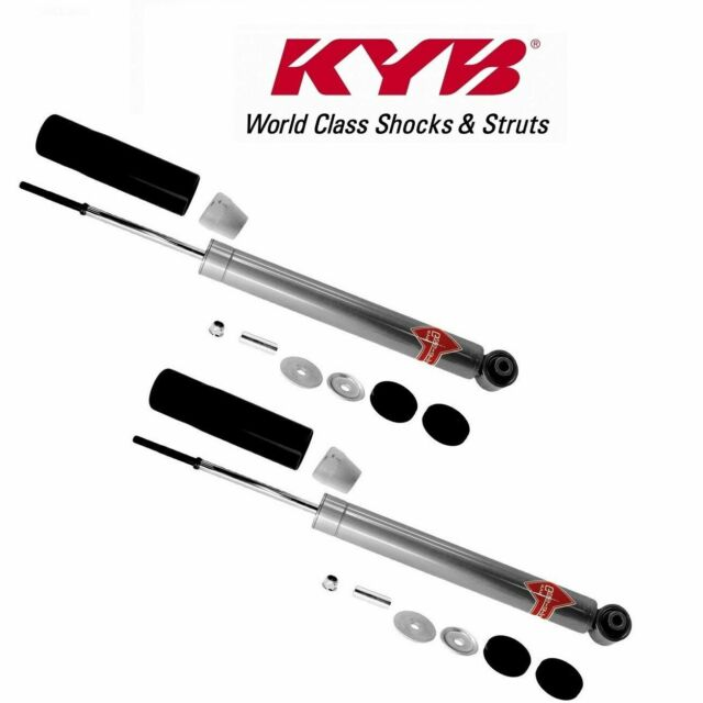 Pair Set Of 2 Rear Shock Absorbers KYB Gas-a-Just 554406