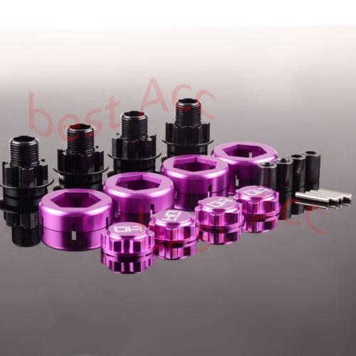 For HPI Savage Flux RC 4PCS 17mm Warlock Hex w//Serrated Nuts 5MM HSF10X07