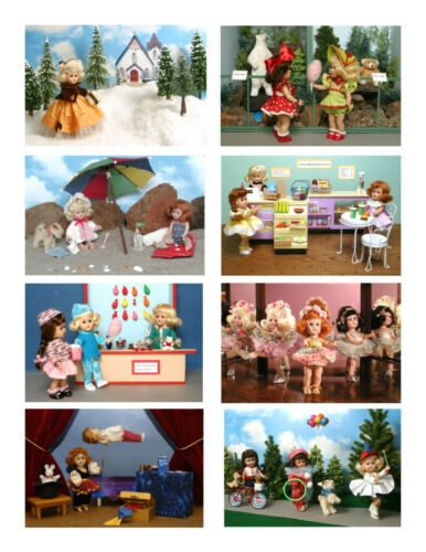 8 cards Vintage Ginny Doll /'Ginny /'Going Places/' Greeting Cards