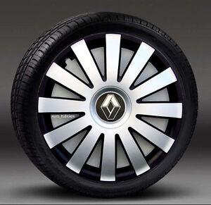 "4x16"" wheel trims, Hub Caps, Covers to fit Renault Laguna,Espace (Quantity 4)"