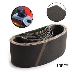 Abrasive Tools Good 10pcs Abrasive Tools Sanding Belt Sandpaper Disc Sandpaper Grinding Wheel Abrasive Belt For Air Belt Sander Rotary Tool