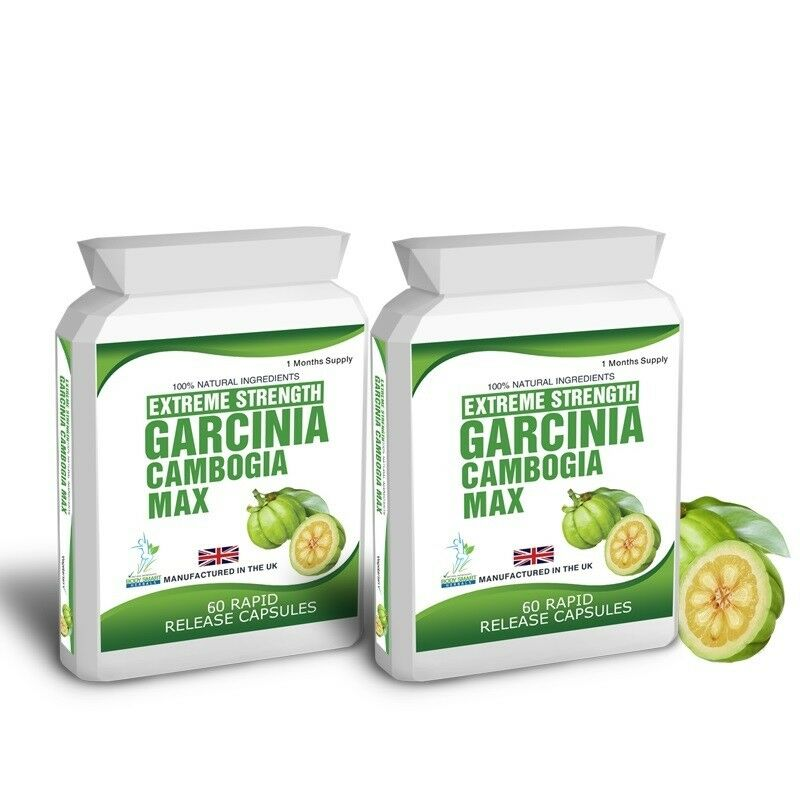 120 Garcinia Cambogia Pure Clean Detox Max Capsules Free Weight Loss Diet Tips s l1600