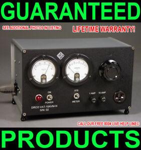NEW-CUSTOM-MADE-GENERAL-RADIO-CASED-DUAL-METERED-10-AMP-BENCH-VARIAC-TUBE-AUDIO