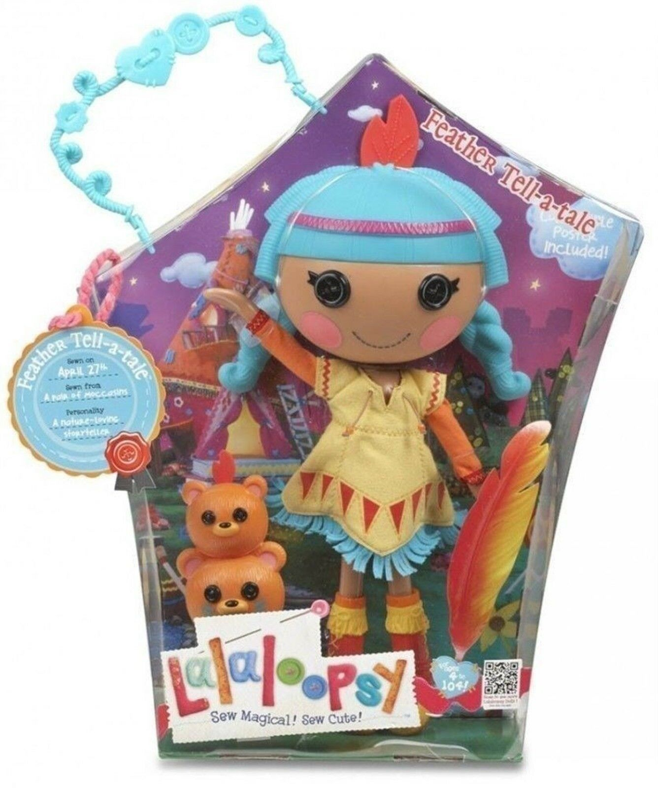 in vendita LALALOOPSY FEATHER TELL-A-TALE TELL-A-TALE TELL-A-TALE ( gree bambola) MIB  80% di sconto