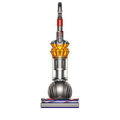 NEW 213551-01 Small Ball Multifloor Upright Vacuum Cleaner: Nickel/Satin Yellow