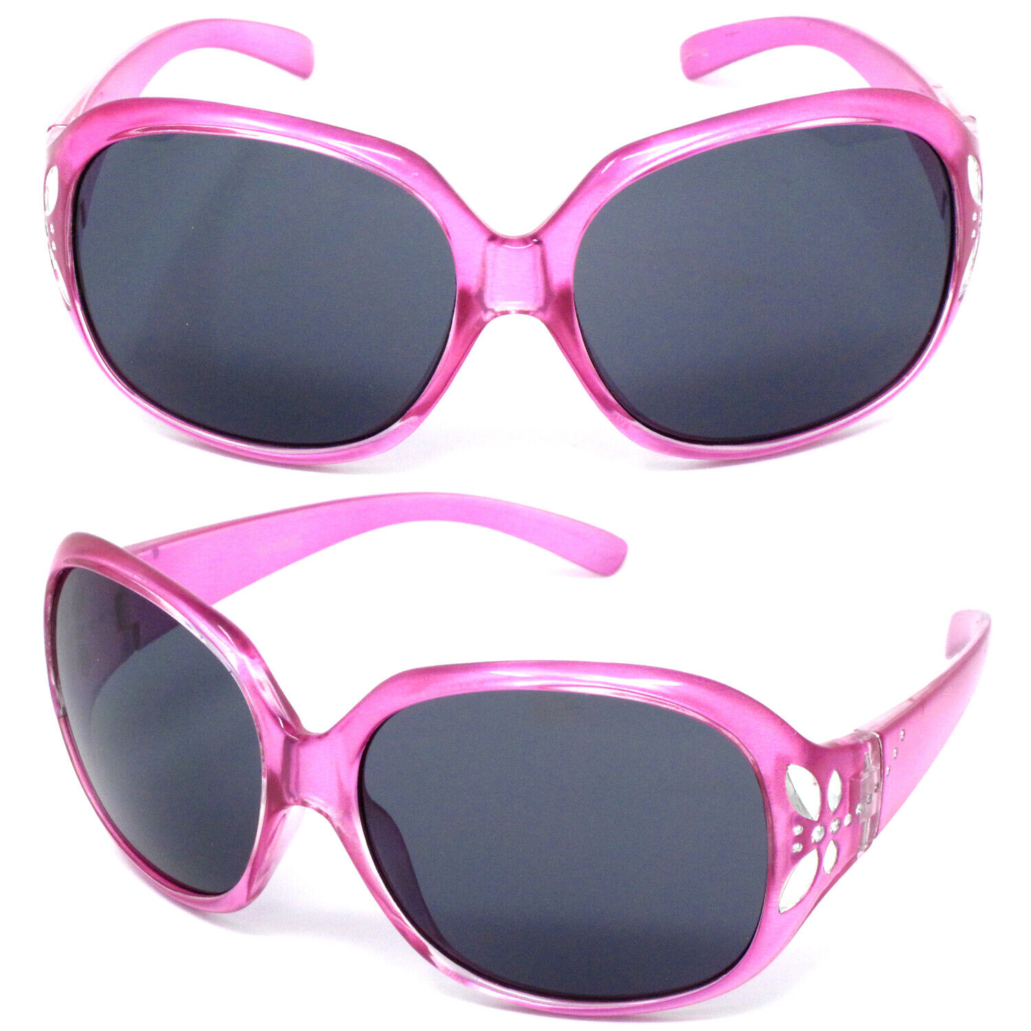 Pink Girls Butterfly Kids Childrens Sunglasses UV400 Fashion Over Size Glasses