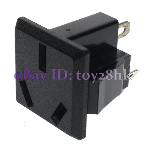 China 10 PCS Australian 3-Pin Power Socket Panel Receptacle Max AC 250V 10A