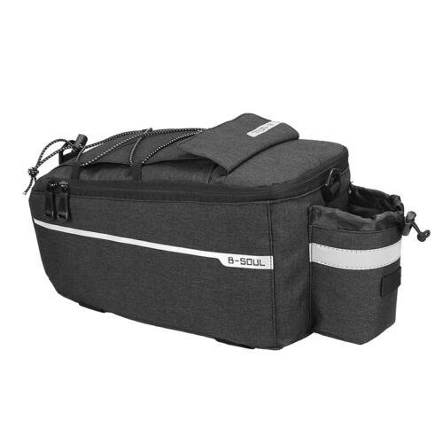 B-SOUL Bicycle Rear Rack Insulation Cooler Pack Seat Storage Shoulder Bag USA