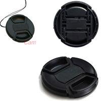 58mm Center Pinch Front Lens Cap Cover For Canon Lens Filter Camera DSLR SLR CC1
