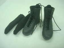 "1/6 Art Figures Soldiers Of Fortune Expendables black boots for 12"" figure use"