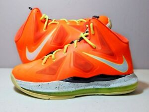 promo code bc958 d3ef0 Image is loading Nike-Shoes-2012-GS-Youth-Lebron-10-X-