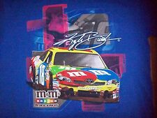 NEW Men's NASCAR KYLE BUSH #18 T-SHIRT SZ L M & M'S CHASE AUTHENTIC 2011 NWOT