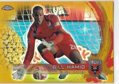 United Soccer Card 2015 Topps Apex MLS #87 Bill Hamid D.C