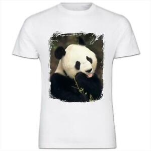 Panda Bear Kids Boy Girl T-Shirt