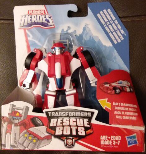 Transformers Rescue Bots nuova scansione HEATWAVE IL FUOCO-Bot Race Car-Nuovo In Magazzino