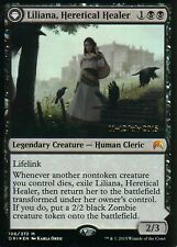 Liliana, Heretical Healer / Liliana, Defiant Necromancer FOIL | NM | Prerelease