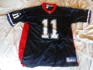 Details about Bledsoe New England Patriots Number 11 Jersey Size XL Reebok Pre Owned