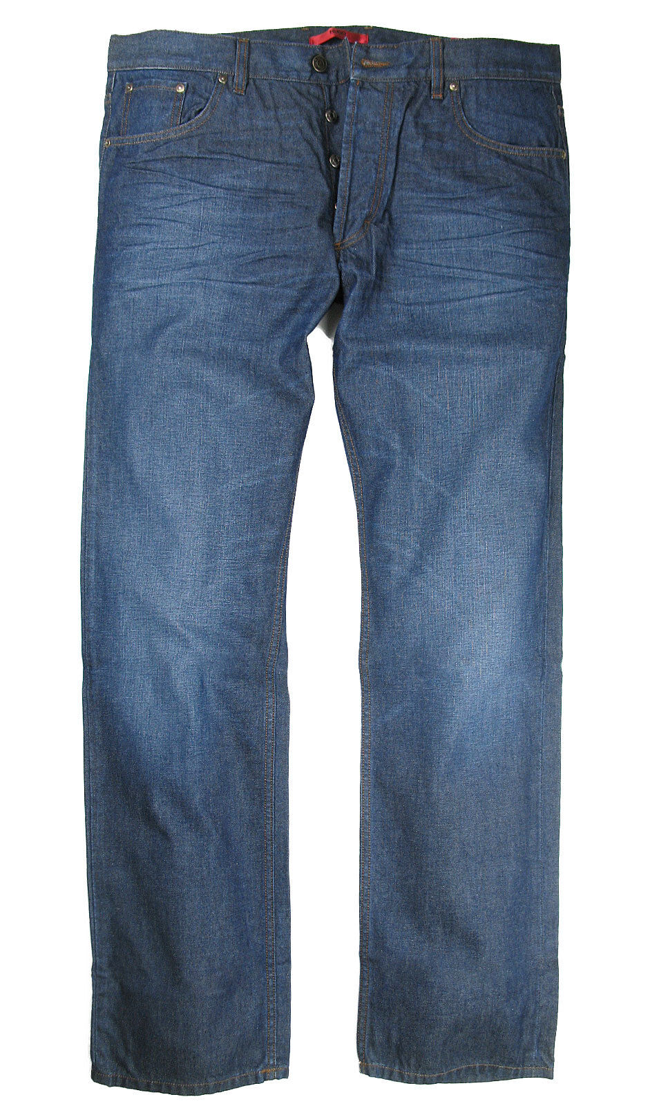 Boss Hugo jeans 677 8 in Navy bluee Used Stretch