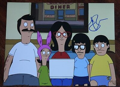 Signed 11x14 Photo Mh1 Coa Lovely Luster 2019 Latest Design Gfa Bob's Burgers Creator Loren Bouchard