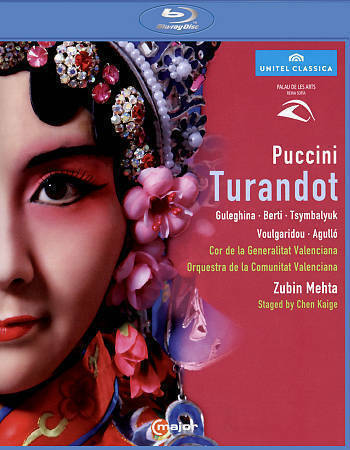TURANDOT (PALAU DE LES ARTS REINA SOFIA) USED - VERY GOOD BLU-RAY