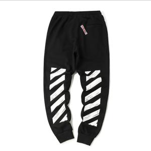 OFF White Jogginghose Herren Damen Trainingshose Sweathose Pant lang Pants Hosen