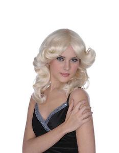 Détails sur # Madonna Style Perruque Blonde