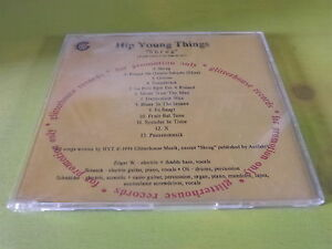 HIP-YOUNG-THINGS-CD-collector-13-titres-13-track-promo-CD-SHRUG