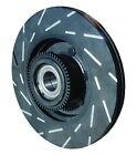 Disc Brake Rotor-EBC USR Series Sport Slotted Rear EBC Brake fits 05-12 Acura RL