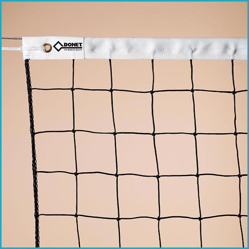 Volleyball Volleyballnetz Volleyballnetz Volleyballnetz Trainingsnetz Netz, 9,5 x 1,0 m, PE 3 mm ø, Schwarz  | Zarte  | Feine Verarbeitung  7edd26