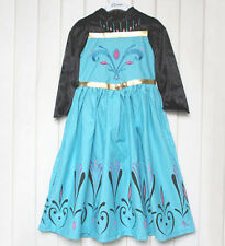 Frozen Elsa Neve Regina Incoronazione Giorno Festa Abito Costume Fantasia 4/5 anni