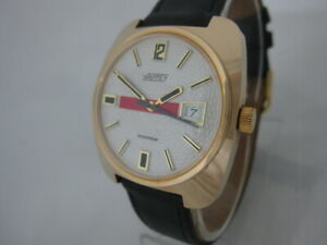 NOS-NEW-VINTAGE-MECHANICAL-HAND-WINDING-BIG-NAPPEY-MEN-039-S-ANALOG-WATCH-WITH-DATE