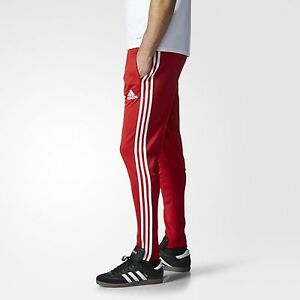 8dac11809 NEW $65 Adidas Men's Tiro15 Training Pants Sweatpants AC2956 Red | eBay