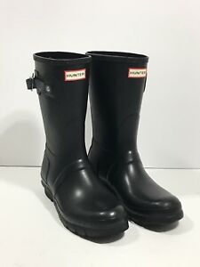 Hunter-039-Original-Short-039-Rain-Boot-Size-9US-40-41EU