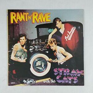 THE-STRAY-CATS-Rant-n-039-Rave-R173486-LP-Vinyl-VG-Cover-VG-Sleeve