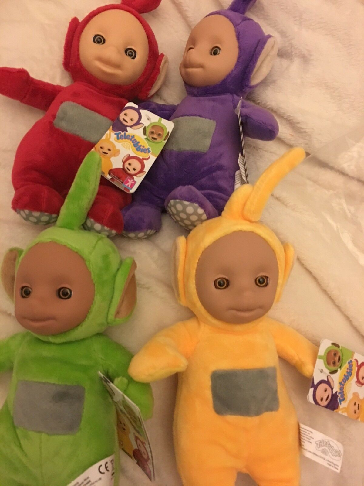 New Teletubbies  Four  Talking  Six Inch Soft Toys