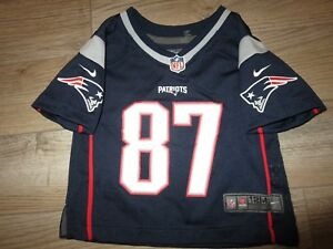 wholesale dealer 4f9ea 2c9ea Details about Rob Gronkowski #87 New England Patriots nike NFL Jersey Baby  Toddler 24m